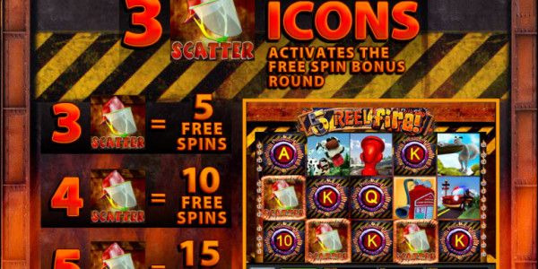 5 Reel Fire MCPcom Multislot pay2
