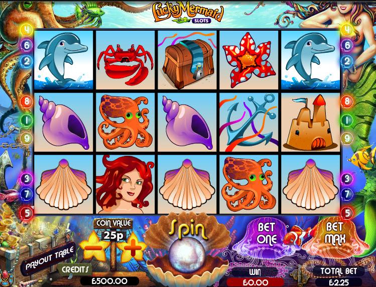 Lucky Mermaid Slots MCPcom Multislot