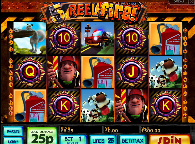 5 Reel Fire MCPcom Multislot