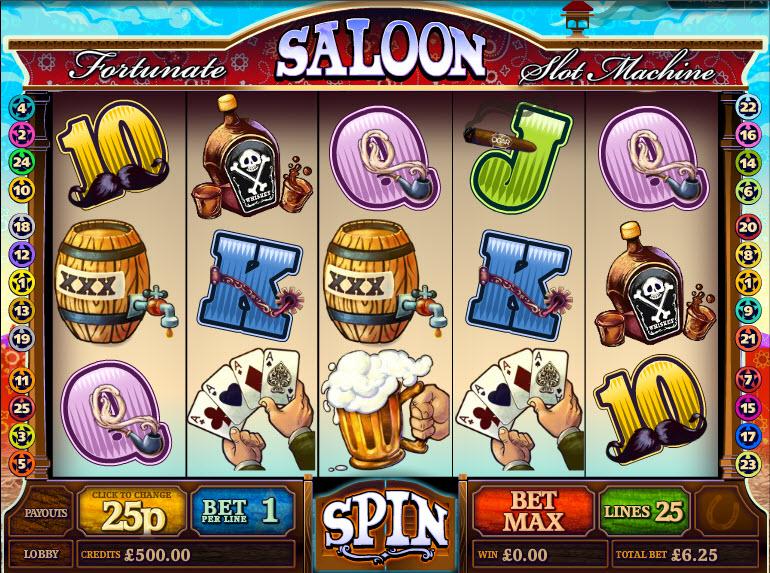 Fortunate Saloon MCPcom Multislot
