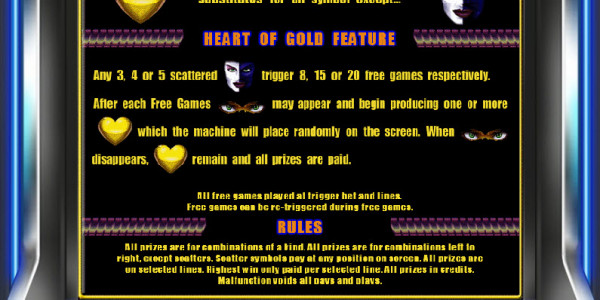 Heart of Gold MCPcom Novomatic pay2