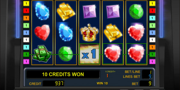 Treasure Jewels MCPcom Novomatic win
