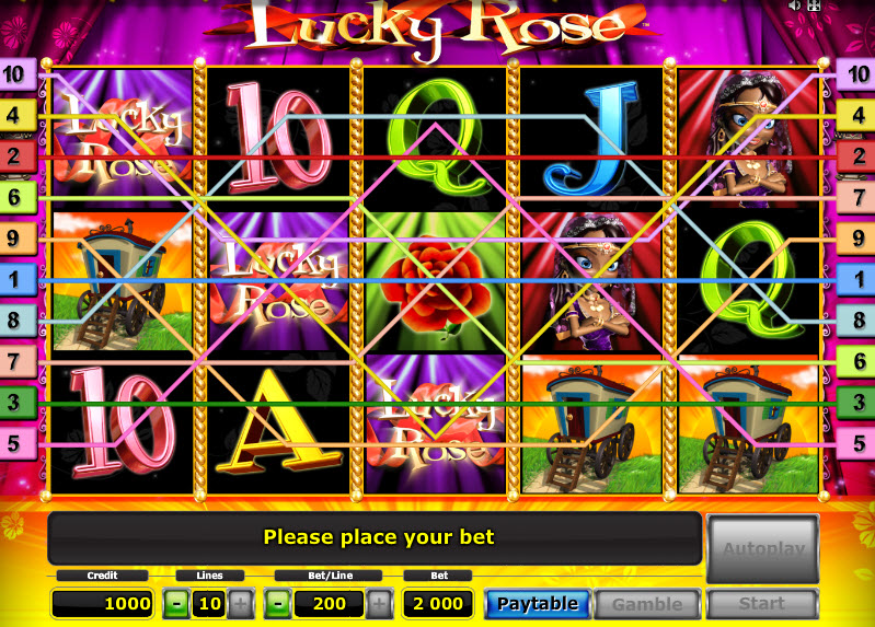 Lucky Rose MCPcom Novomatic