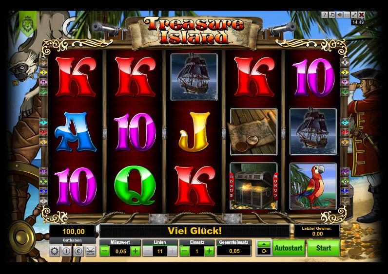 Treasure Island MCPcom KGR Entertainment