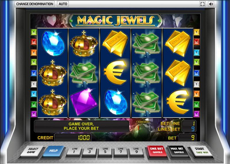 Magic Jewels MCPcom Novomatic