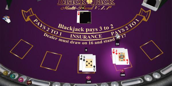 Blackjack Multi Hand Vip MCPcom iSoftBet2