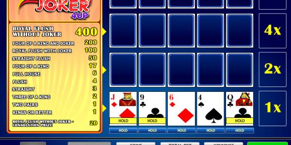 Joker Vegas 4up MCPcom iSoftBet2