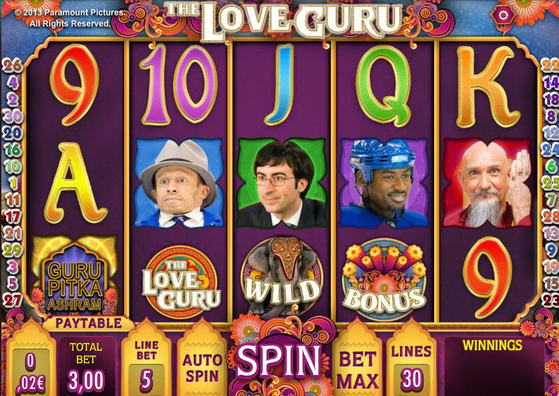The love Guru MCPcom iSoftBet