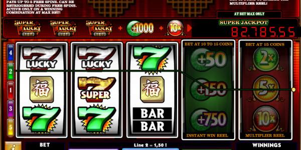 Super Lucky Reels MCPcom iSoftBet win