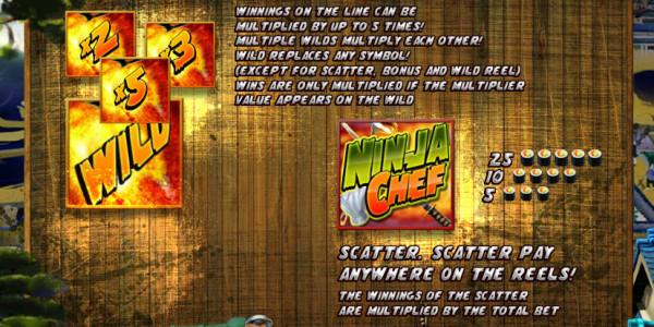 Ninja Chef MCPcom iSoftBet pay2
