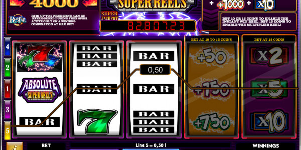 Absolute Super Reels  MCPcom iSoftBet win