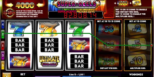 Ultimate Super Reels MCPcom iSoftBet win