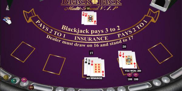 Blackjack Multi Hand Vip MCPcom iSoftBet3