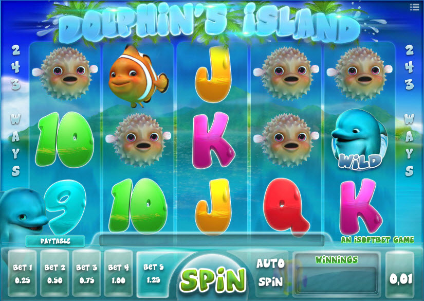 Dolphin's Island MCDolphin's Island MCPcom iSoftBetPcom iSoftBet
