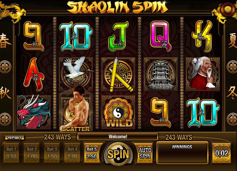 Shaolin Spin MCPcom iSoftBet