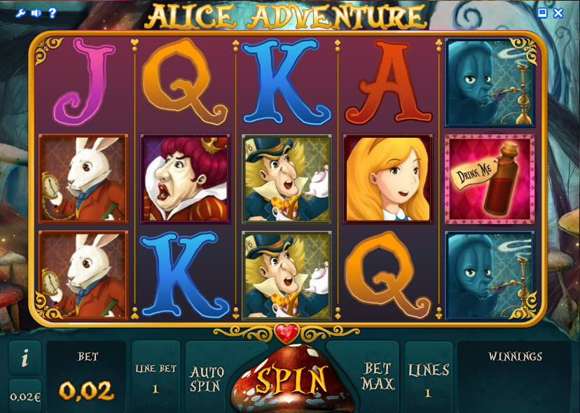 Alice Adventure MCPcom iSoftBet