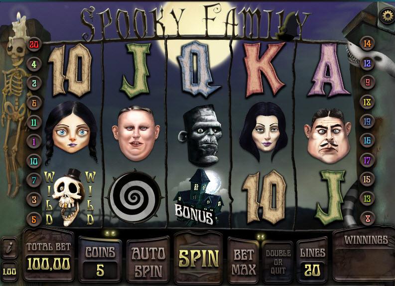Spooky Family MCPcomSpooky Family MCPcom iSoftBet iSoftBet