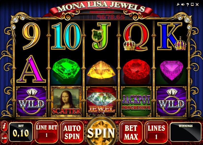 Mona Lisa Jewels MCPcom iSoftBet