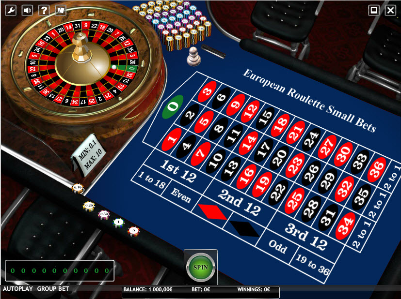 European Roulette Small Bets MCPcom iSoftBet