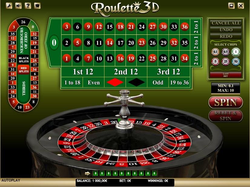 Roulette 3D MCPcom iSoftBet