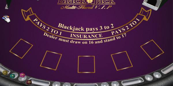 Blackjack Multi Hand Vip MCPcom iSoftBet