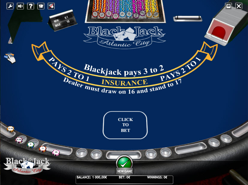 BLACKJACK ATLANTIC CITY MCPcom iSoftBet