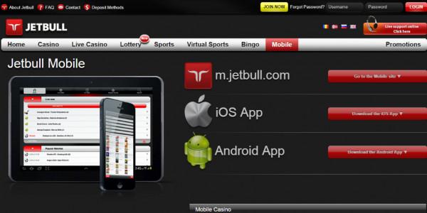 Jetbull Casino MCPcom mobile
