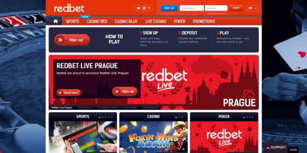 Redbet Casino MCPcom home