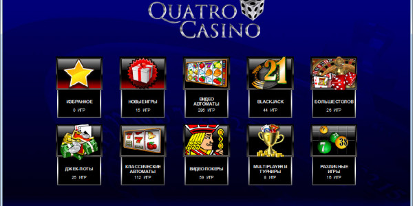 Quatro Casino MCPcom games