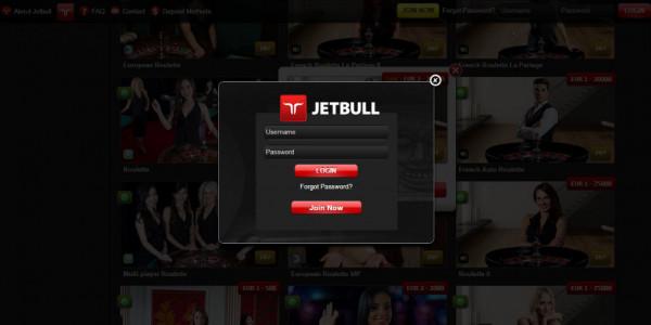 Jetbull Casino MCPcom login