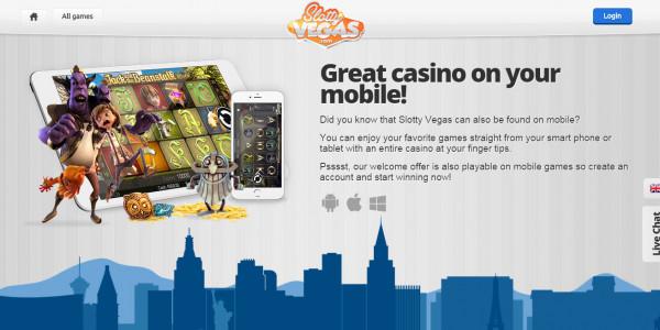Slotty Vegas MCPcom mobile