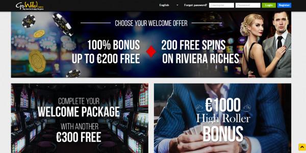 GoWild Casino MCPcom bonuses
