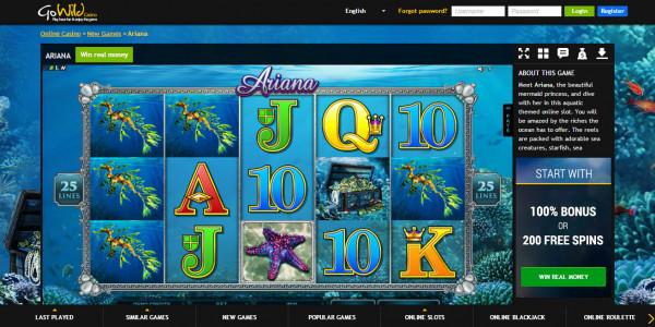 GoWild Casino MCPcom bonuses games