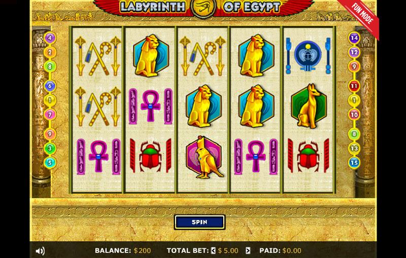 Labyrinth of Egypt MCPcom 888 Holdings