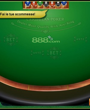 Caribbean Poker MCPcom 888 Holdings
