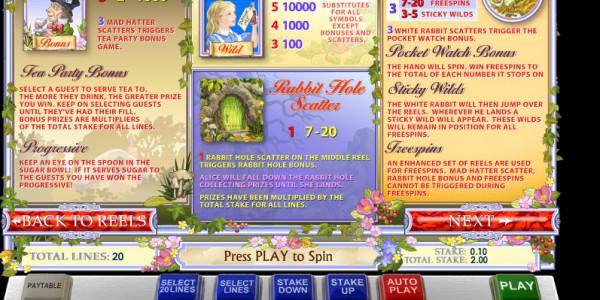 Adventures in Wonderland MCPcom Ash Gaming pay