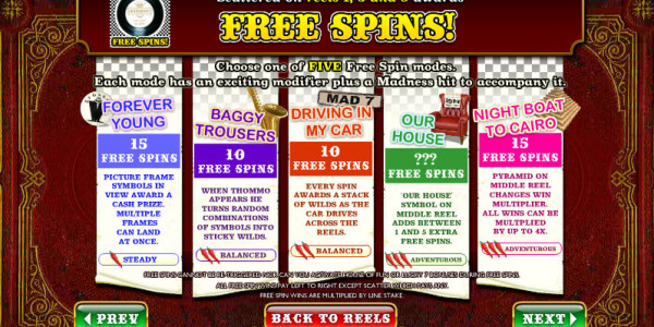 Madness – House of Fun MCPcom Ash Gaming pay