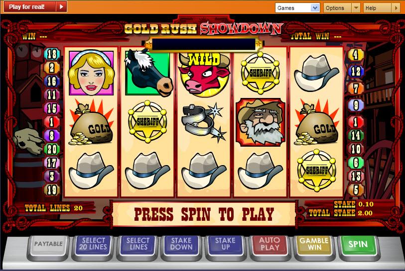 Gold Rush Showdown MCPcom Ash Gaming