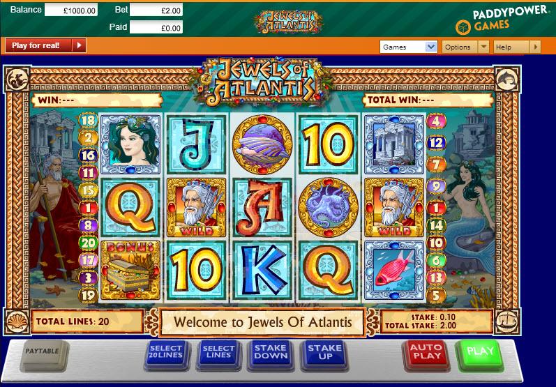 Jewels of Atlantis MCPcom Ash Gaming