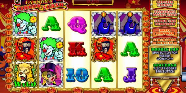 Captain Cannon's Circus of Cash MCPcom Ash Gaming