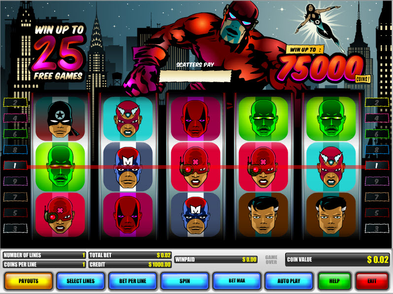 Super Heroes MCPcom B3W Group