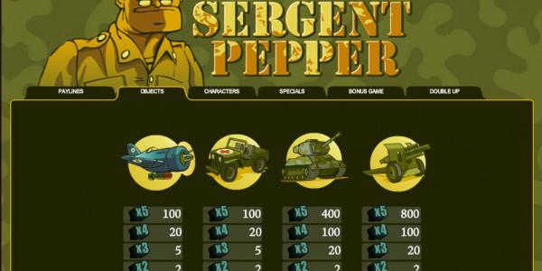Sergent Pepper MCPcom B3W Group pay