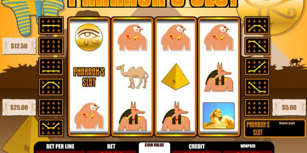 Pharaoh's Slot MCPcom B3W Group win