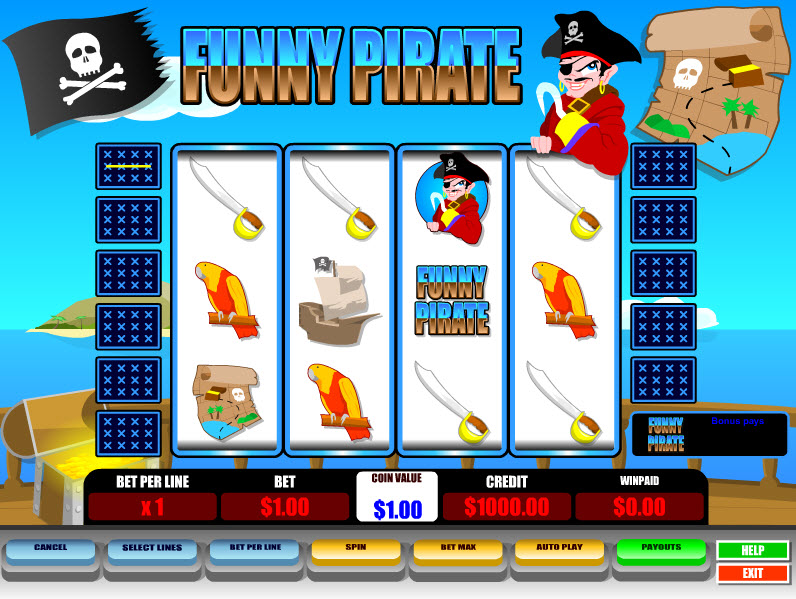 Funny Pirate MCPcom B3W Group