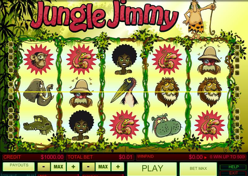 Jungle Jimmy MCPcom B3W Group