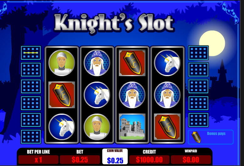 Knights Slot MCPcom B3W Group