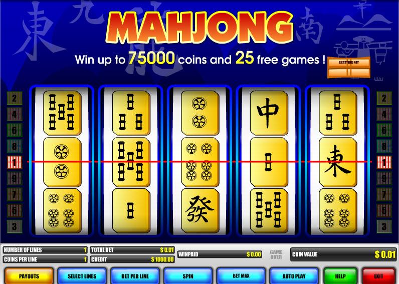 MahJong MCPcom B3W Group