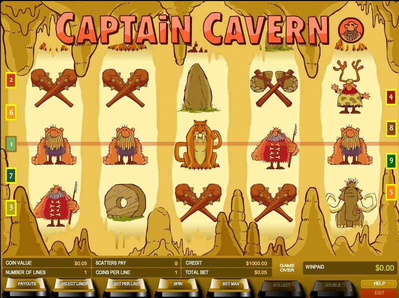 Captain Cavern MCPcom B3W Group
