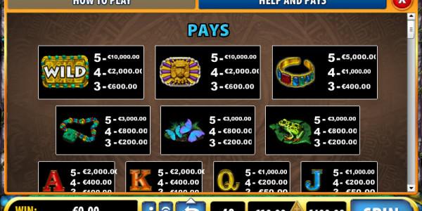 Mayan Treasures MCPcom Bally pay