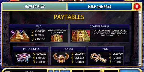 Pharaoh's Dream MCPcom Bally pay